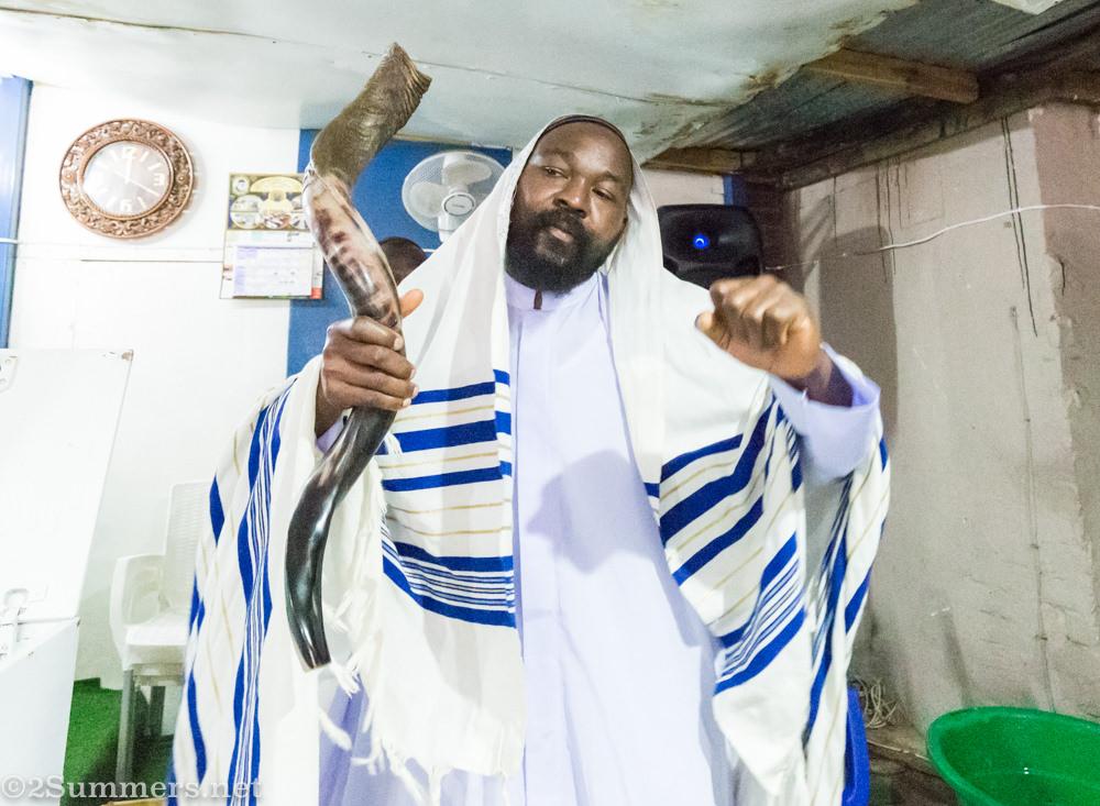 Mocha Egbo, trainee at Bethel Messianic
