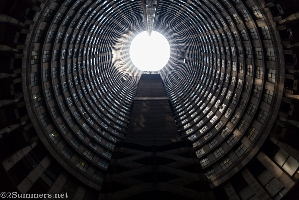 Ponte City core straight up