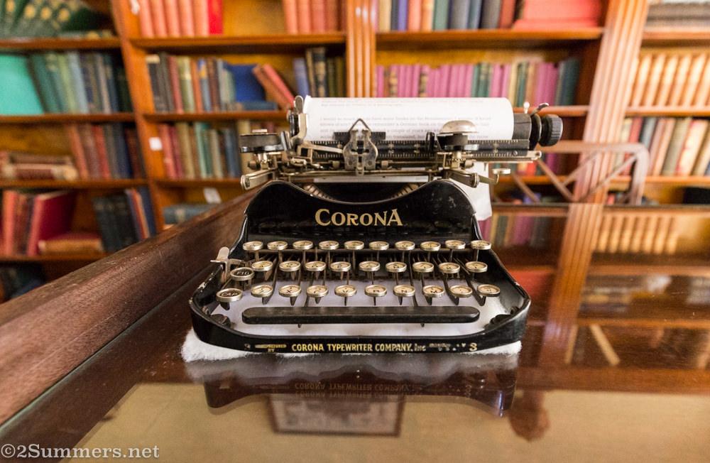 Karen Blixen's typewriter