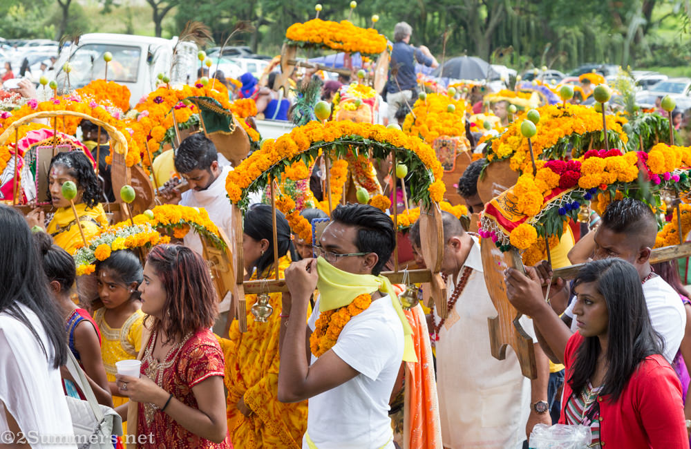 Kavady procession