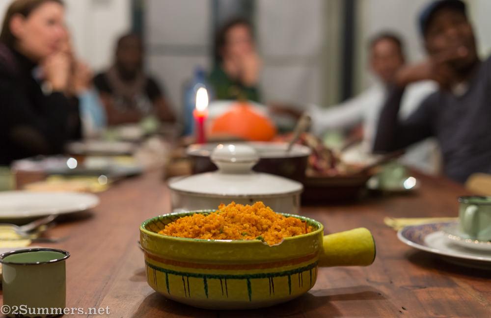Sanza's jollof rice