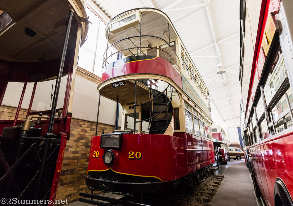 Trams and trolley buses at James Hall Transport Museum