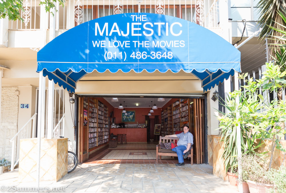 Majestic video awning