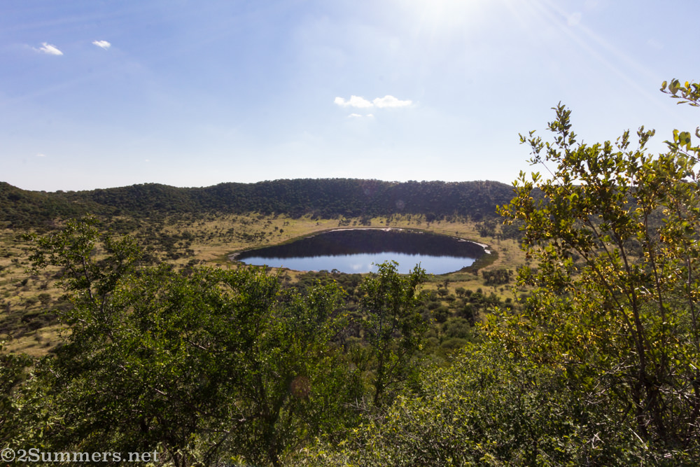 Tswaing Crater and lake