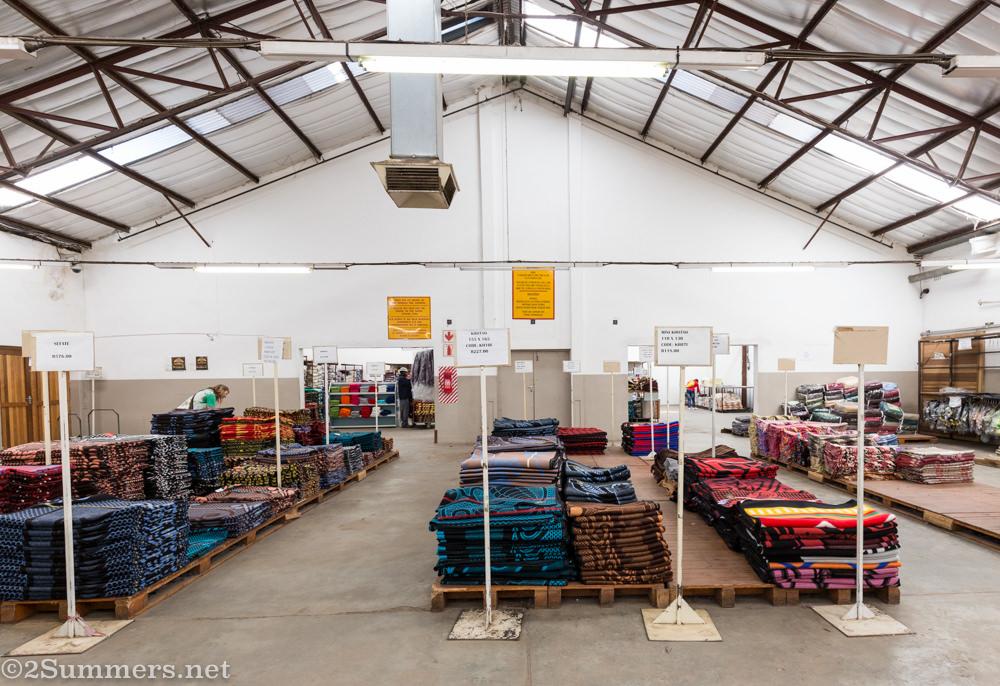 Basotho blankets at Aranda