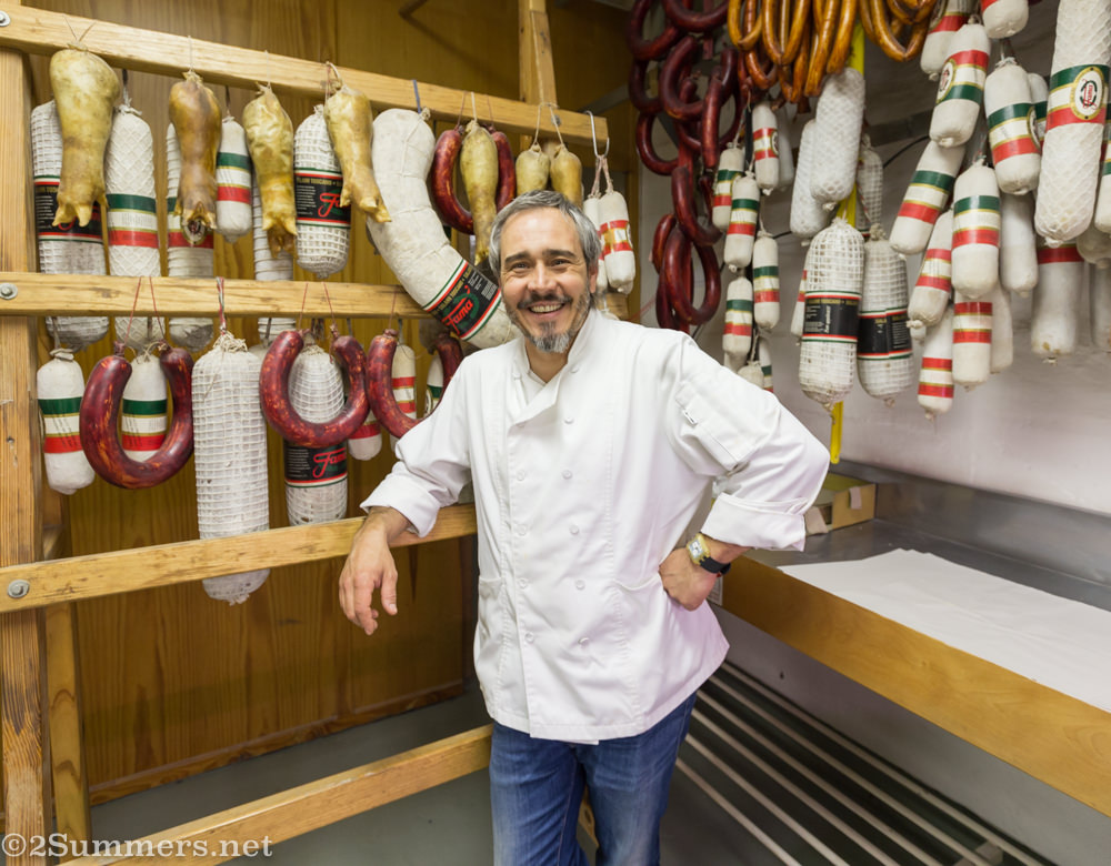 Nuno Fernandes, owner of Fama Deli