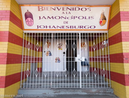 Jamonopolis: Entrance to Fama Deli