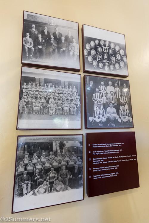 Prison Museum placards