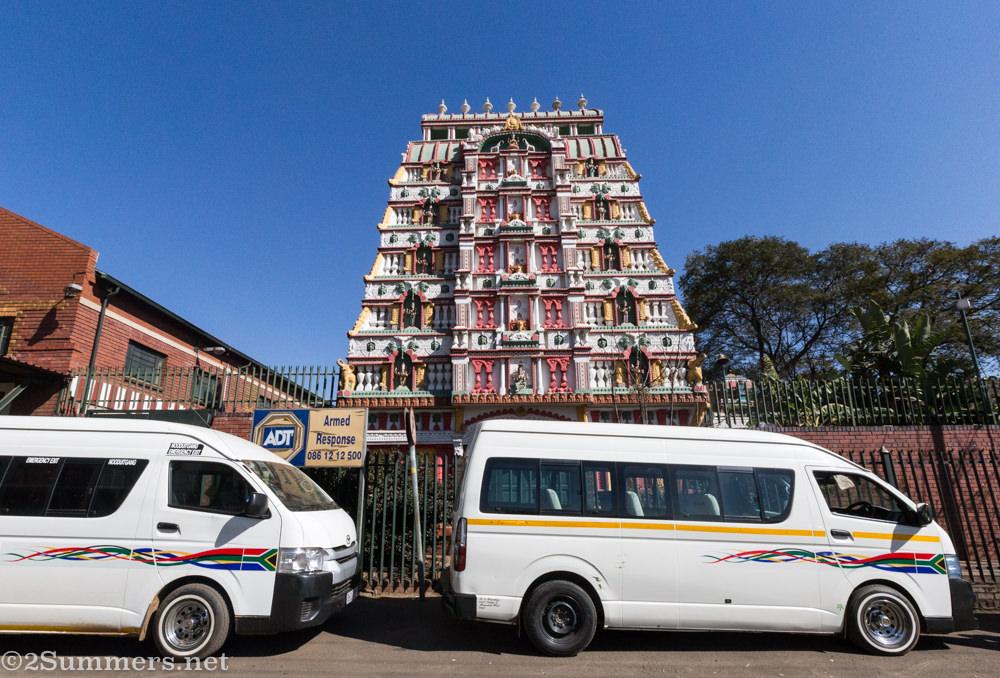Hindu temple in Marabastad