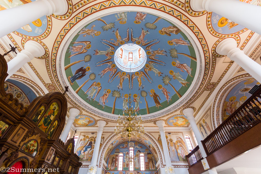 Ceiling in Russian Orthodox Church