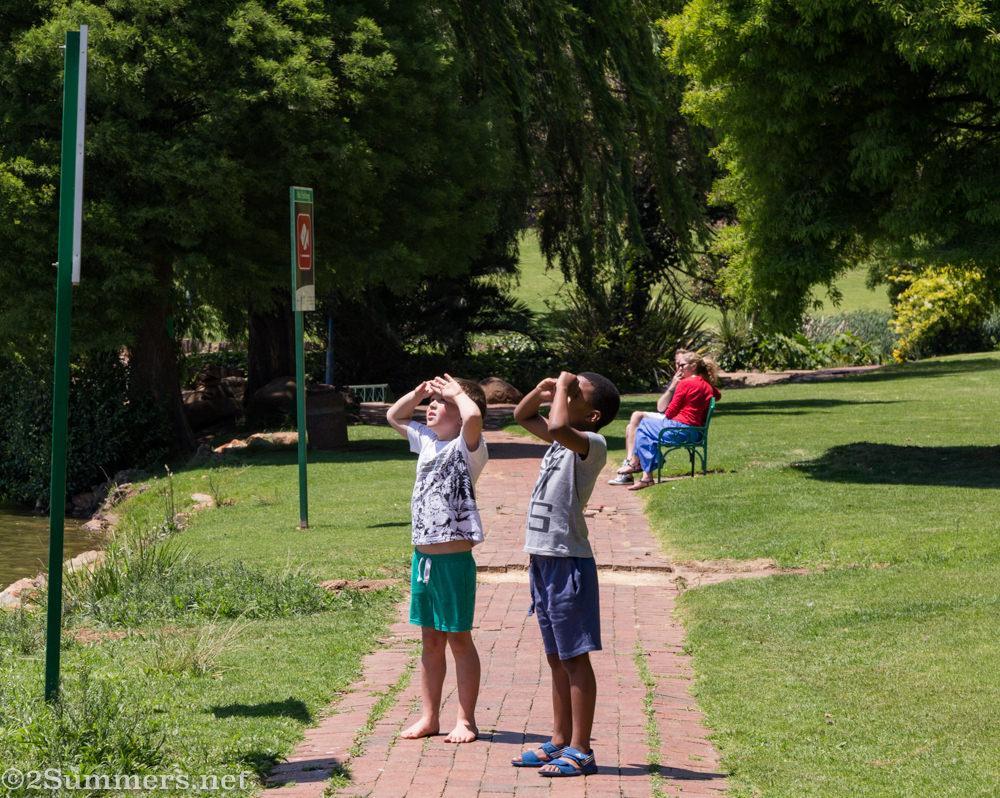 Kids at Rhodes Park