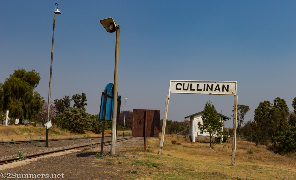Train tracks in Cullinan