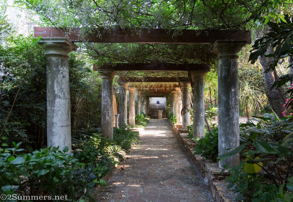 Walkway at Jesuit Institute