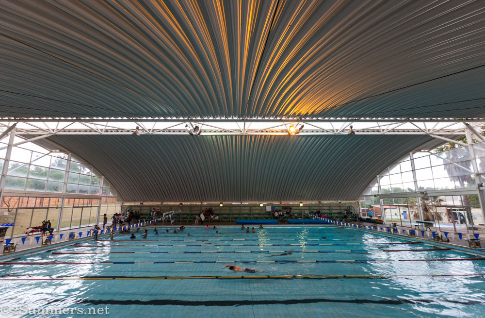 Linden Swimming Pool in Jozi