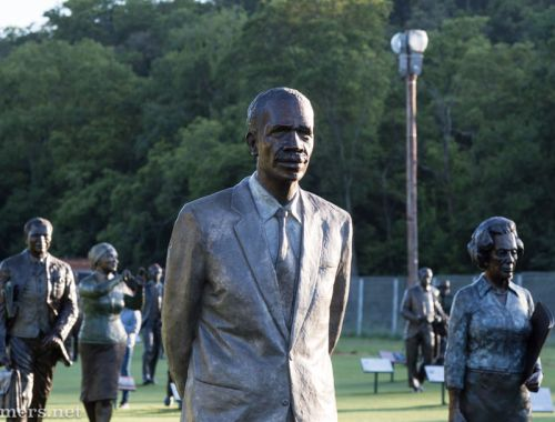 Robert Sobukwe sculpture at Long March to Freedom National Historic Monument