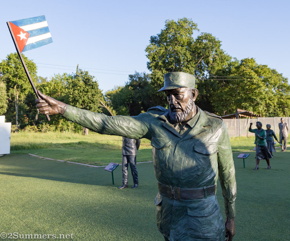 Fidel Castro in Long March to Freedom