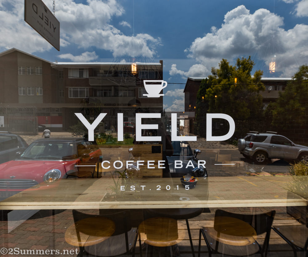 Outside Yield Coffee Bar