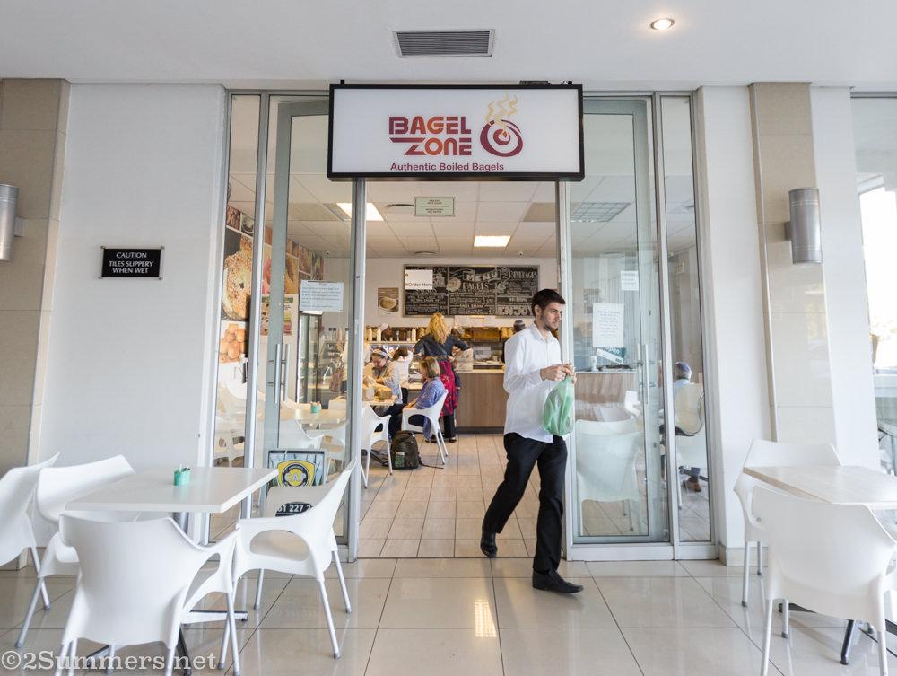 Bagel Zone entrance