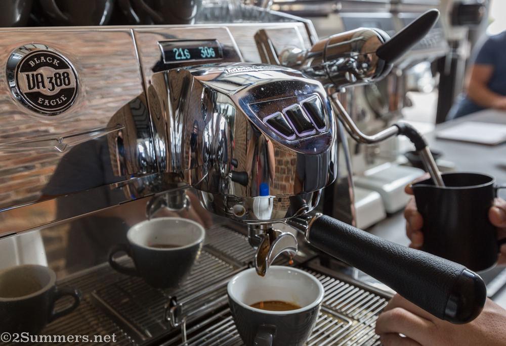 Coffee machine at third space