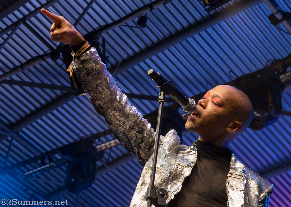 Nakhane Toure at Bushfire