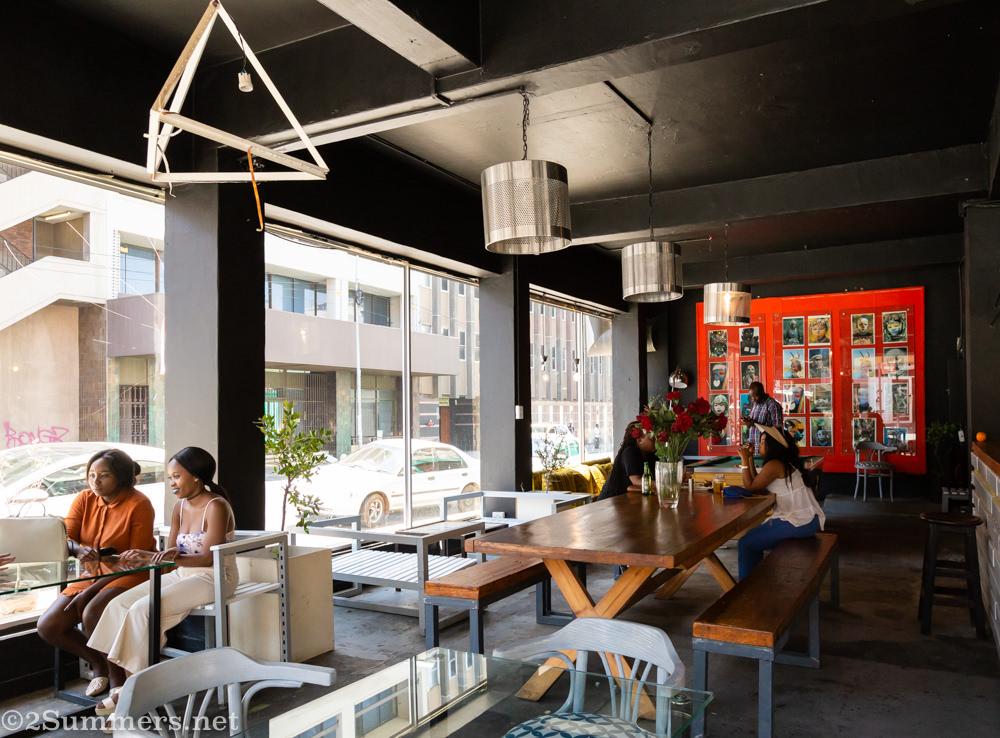 Inside Kafe Noir