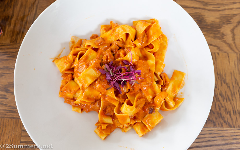 Pasta from Cremalat