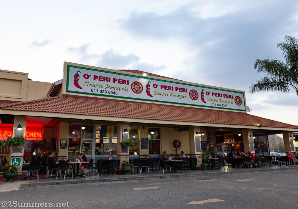 O' Peri Peri restaurant in Edenvale