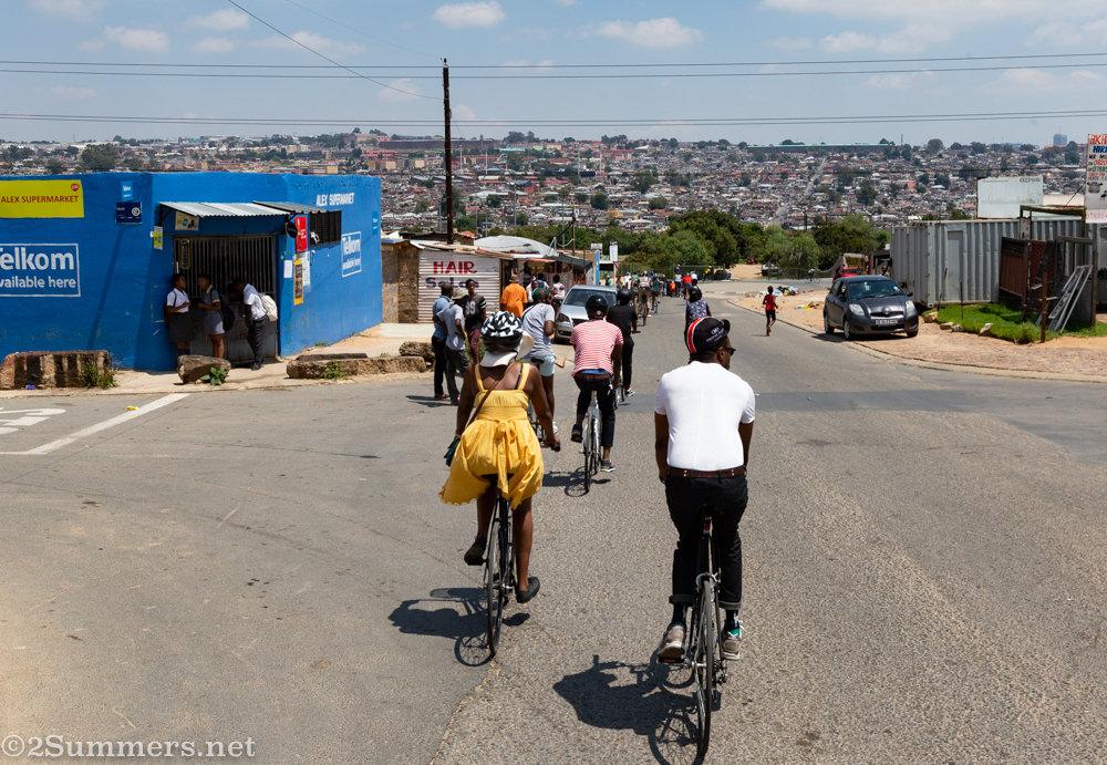 Cycling through Alex