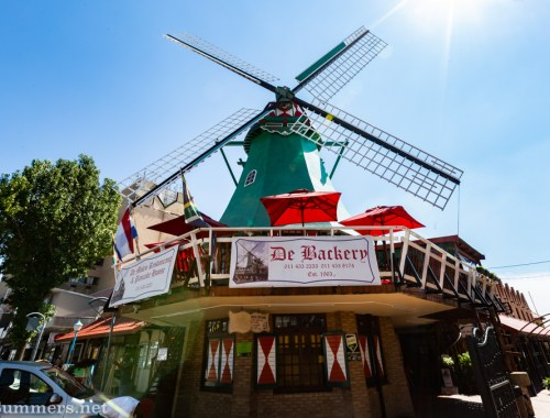 De Bakery windmill on Van Riebeek Avenue in Edenvale