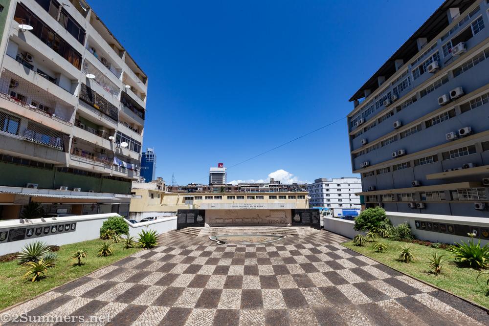 Louis Tregardt Memorial in Maputo
