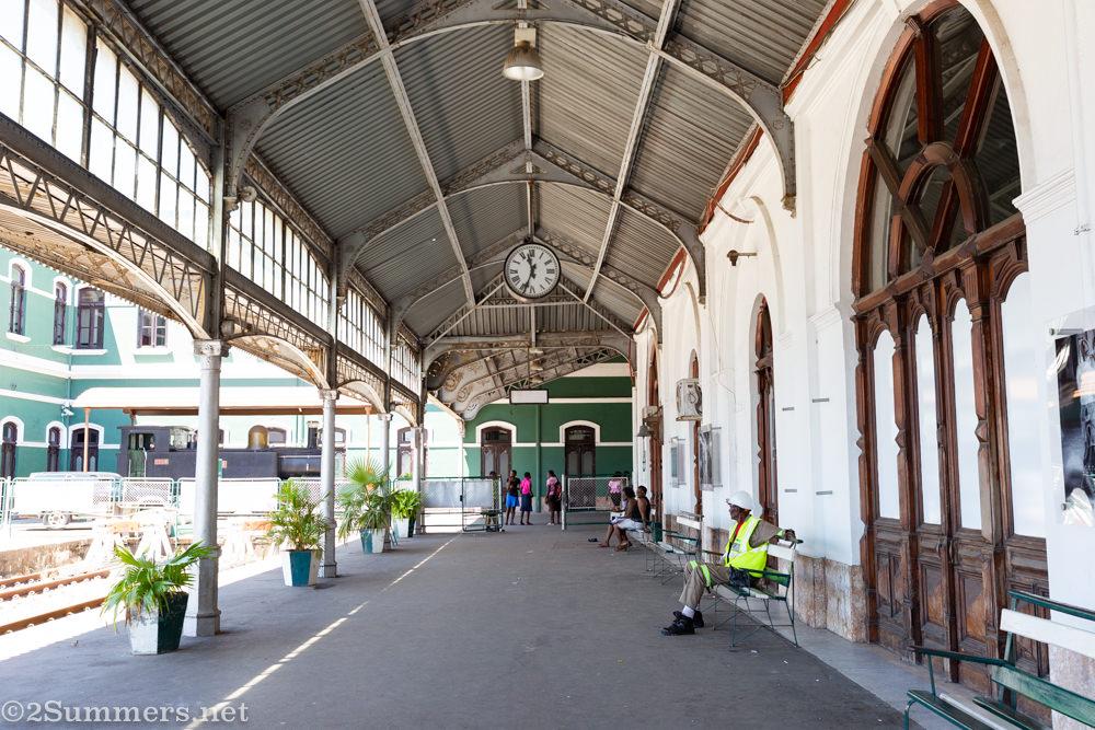 Platform in Maputo's Central Railway Station