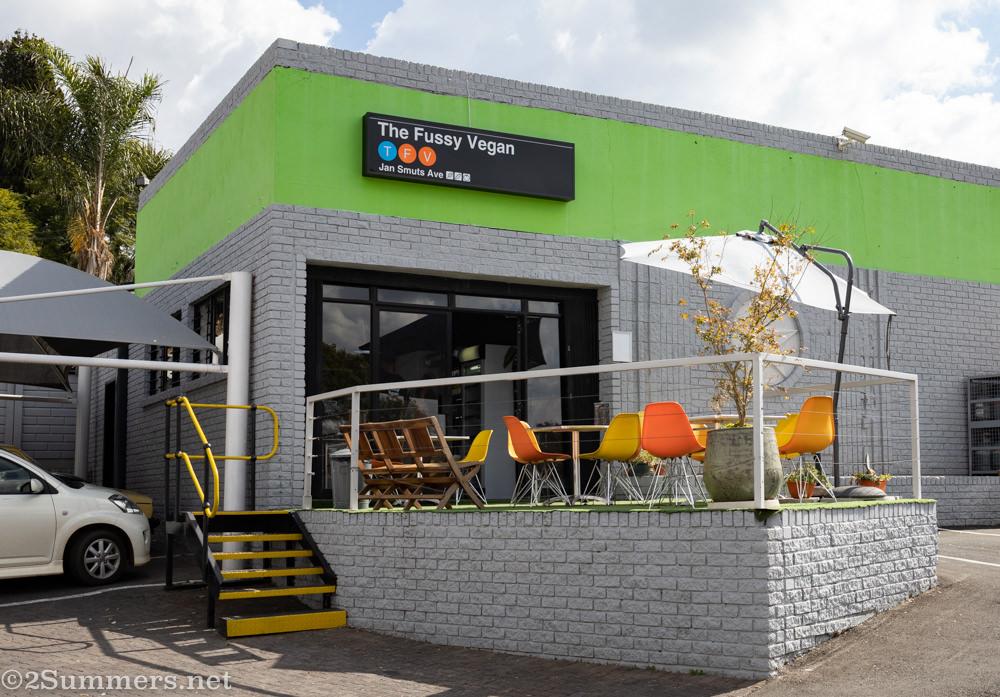 Fussy Vegan restaurant in Blairgowrie