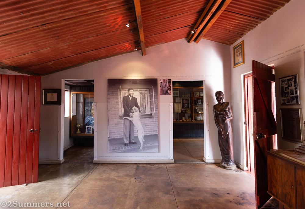 Inside Mandela House