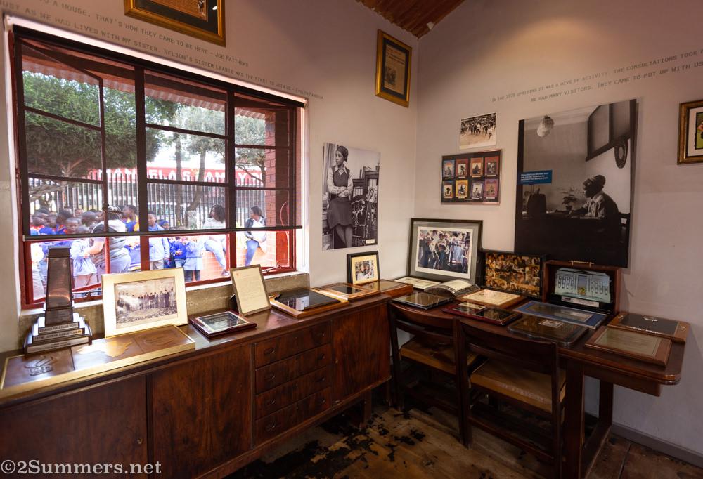 Desk in Mandela House