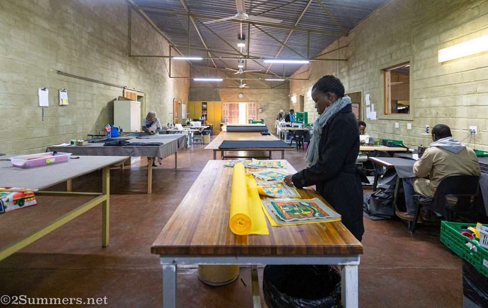 Kaross embroidery factory