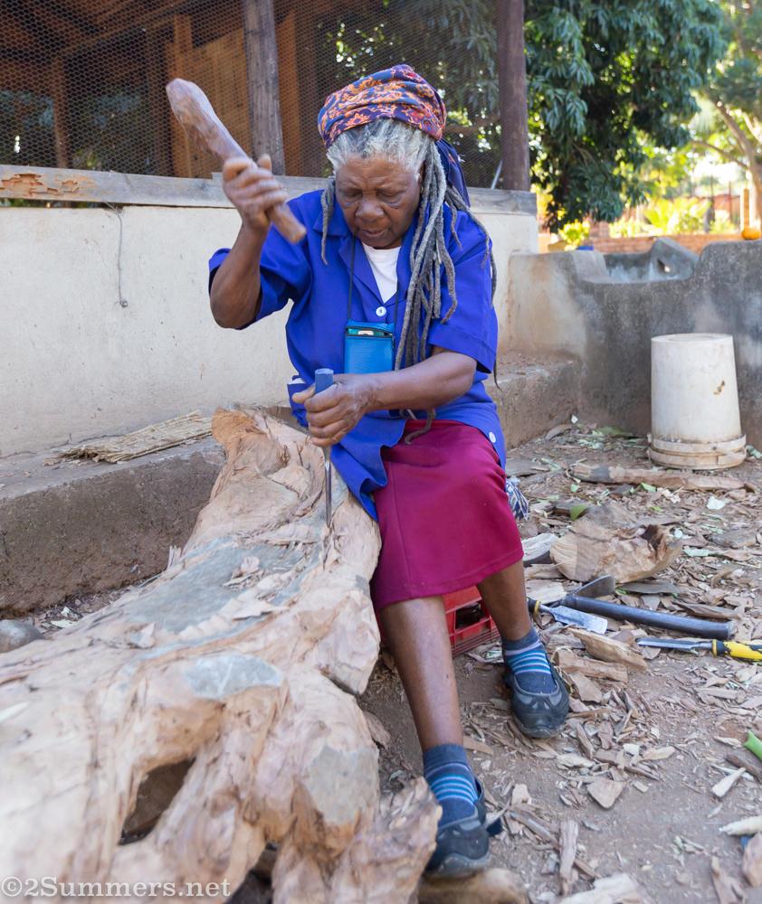 Noria Mombasa woodcarver