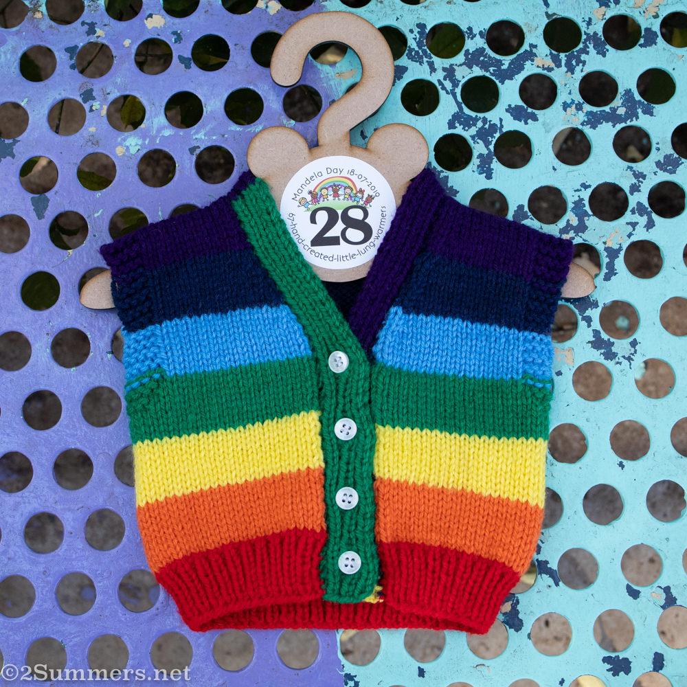 Rainbow Little Lung Warmer