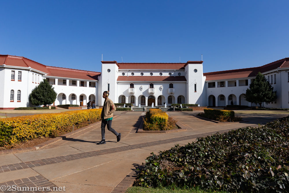 Main Building at NWU Potchefstroom