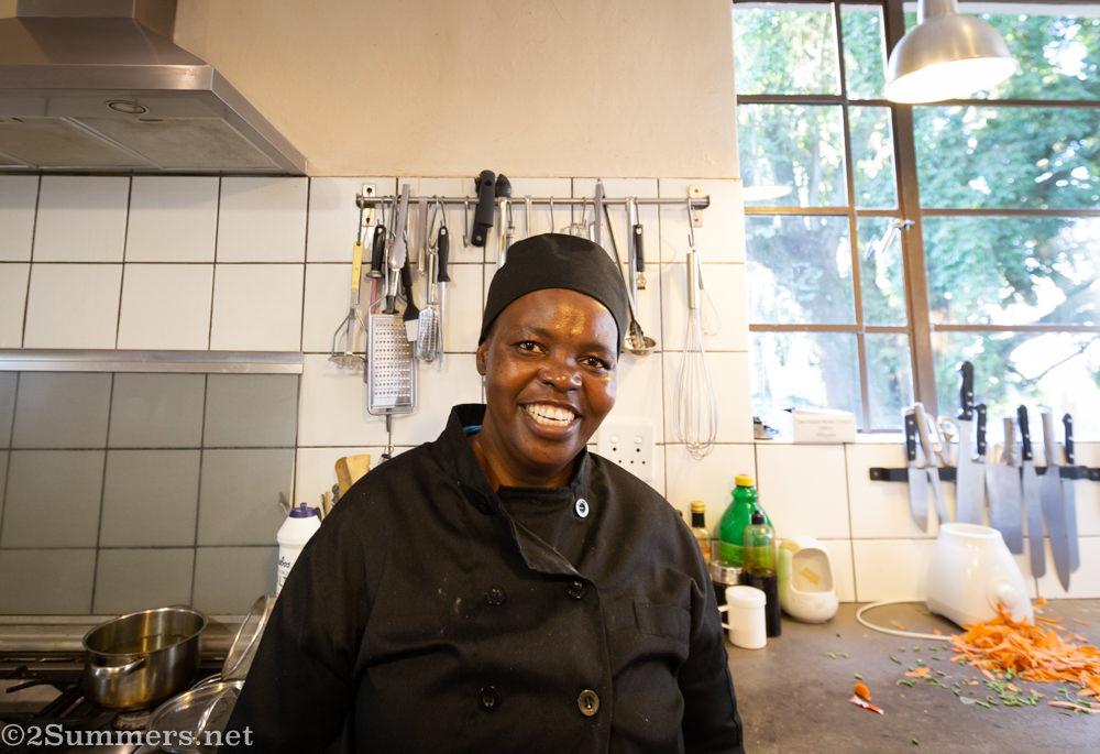 Chef Lizzie Phokungwana