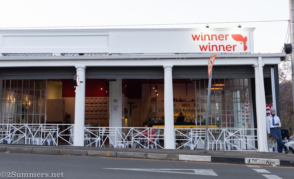 Winner Winner restaurant in Melville.