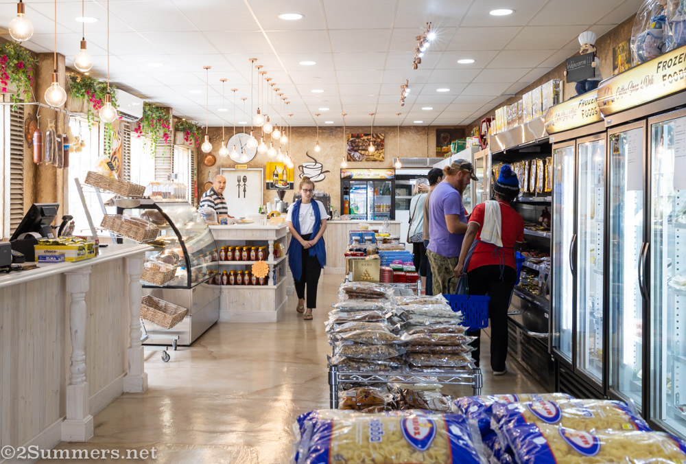 Inside the Global Cheese Company cafe