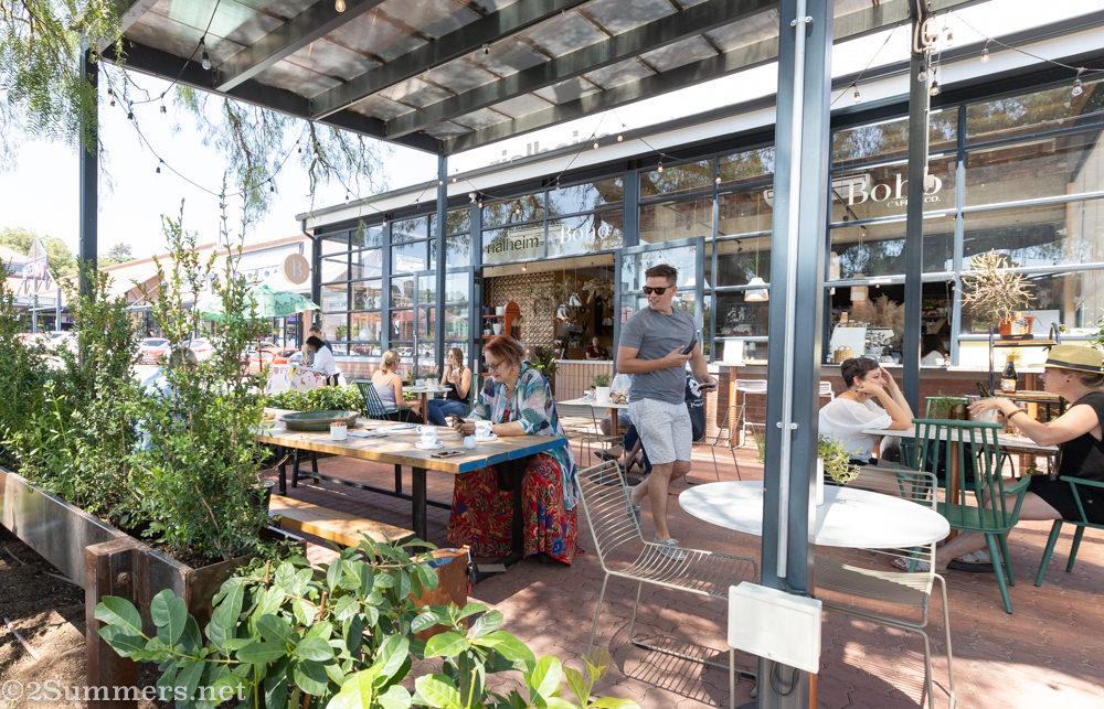 Boho Cafe & Co., one of my favorite Jozi coffee shops