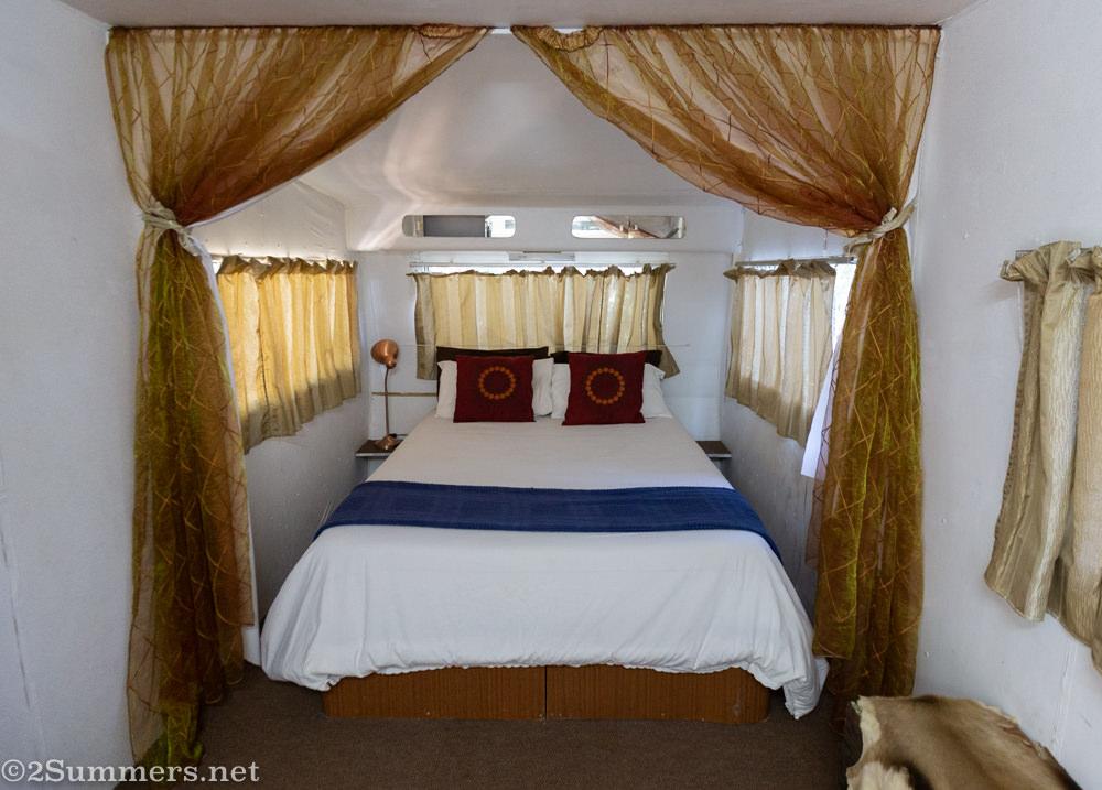 Inside the campovan