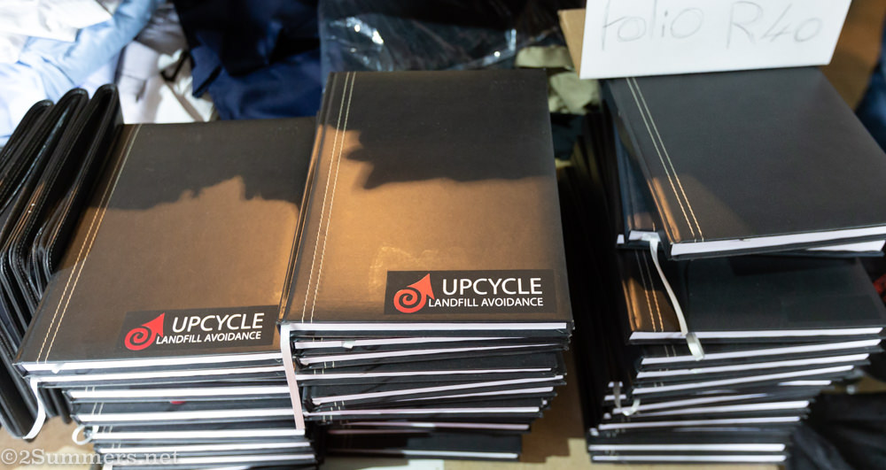 Diaries for sale at Upcycle