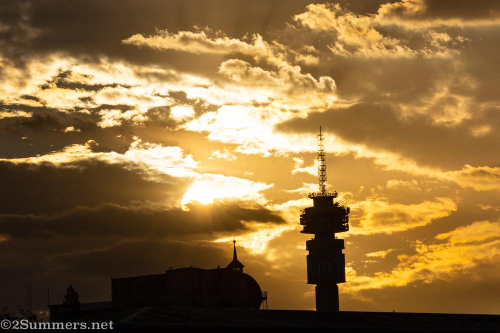 Telkom Tower top