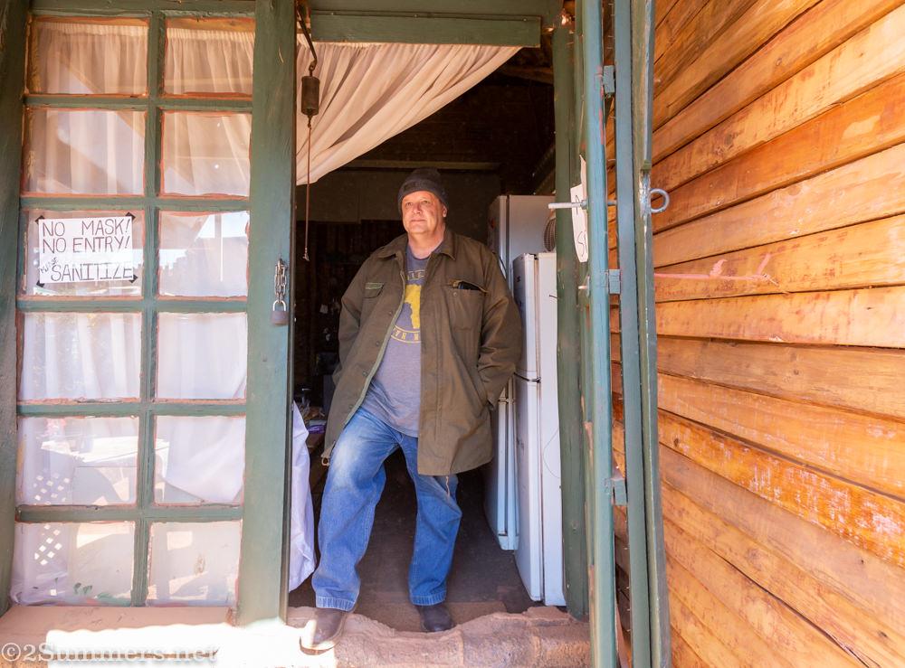 Daniel Geyer at Villa Gloria in Krugersorp