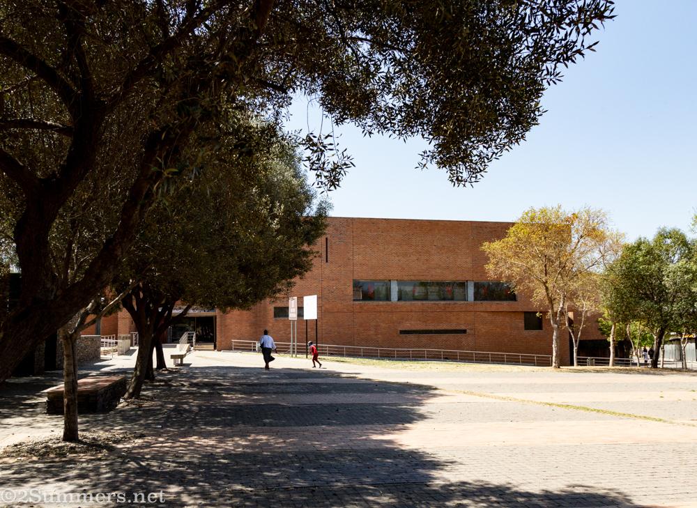 Empty Hector Pieterson Museum