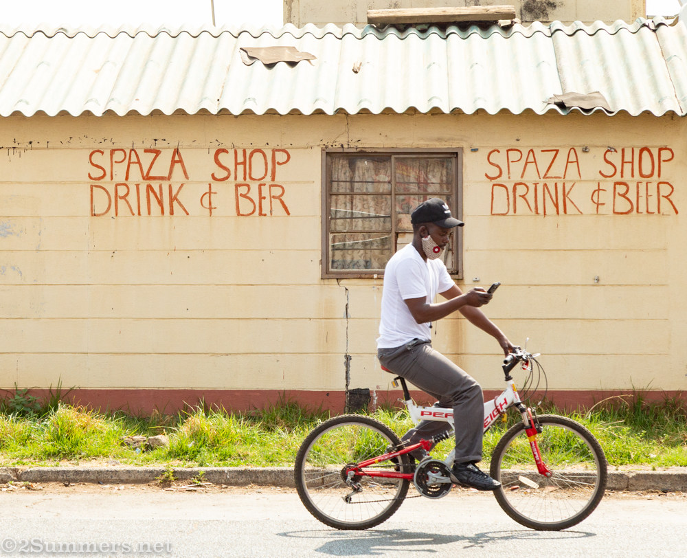 Spaza shop in Thokoza