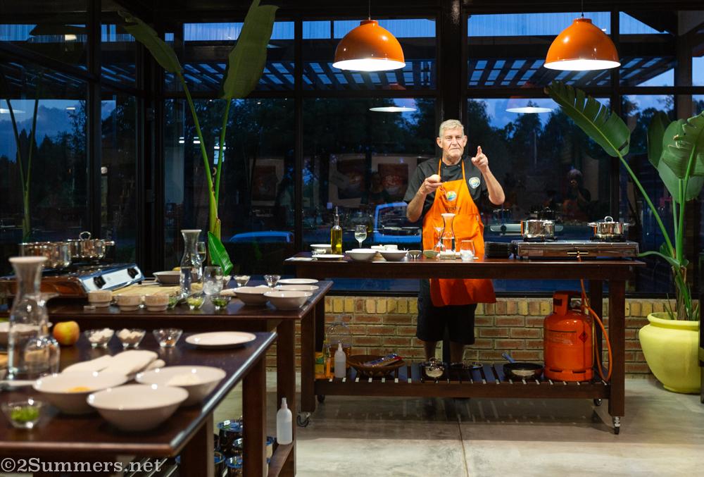 Chef Adri Van Wieringen