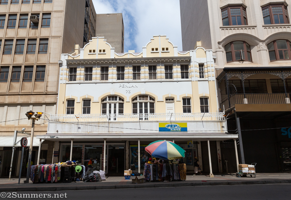 Historic building in downtown Joburg
